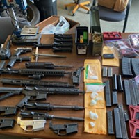 Task Force Reports Finding Assault Weapon, Guns, Fentanyl in Eureka Bust