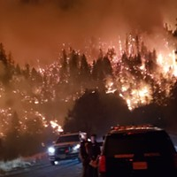 Wildfires Closing Sections of SR 299, 36