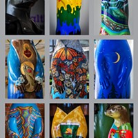 North Coast Otter Sculpture Auction and Preview