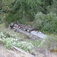 UPDATED: Large Fuel Spill in State Park Amid Crash Cleanup Effort