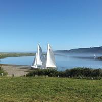 Sailing on Big Lagoon