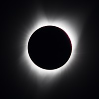 The Solar Eclipse from Oregon