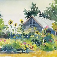 Paul Rickard's Plein Air Progress