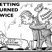 Getting Burned Twice