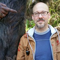 Out in the Woods with Primal Rage's Bigfoot