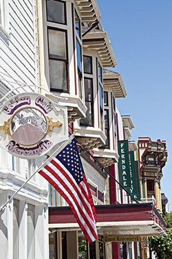 Victorian storefronts on Ferndale's Main Street. - FILE