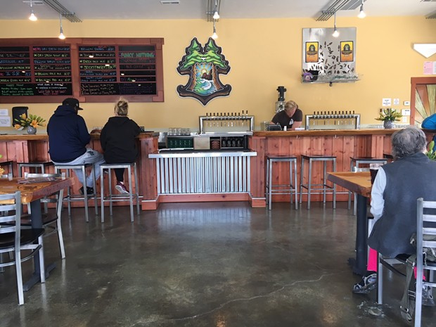 Inside the new taproom in Eureka. - PHOTO BY JENNIFER FUMIKO CAHILL
