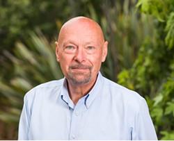 KHSU General Manager Peter Fretwell. - COURTESY OF HSU.