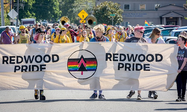 Redwood Pride - PHOTO BY MARK LARSON