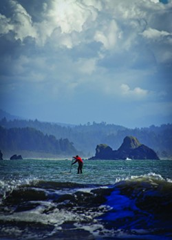 Stand Up Paddling in Trinidad. - JASON SELF