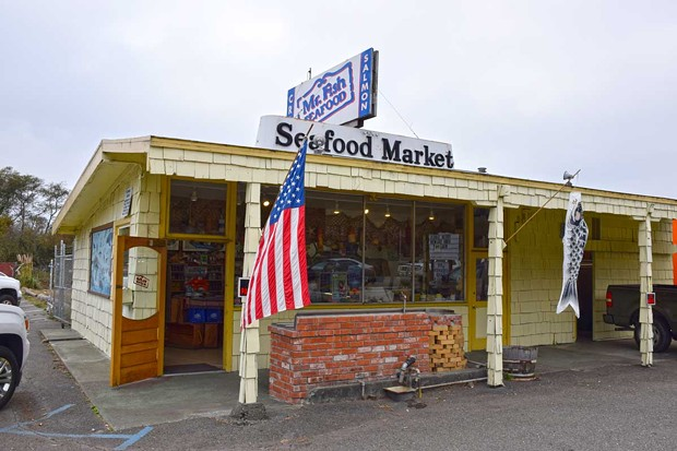 Mr. Fish Seafood, the little seafood shop on Broadway, is for sale. - PHOTO BY JENNIFER FUMIKO CAHILL