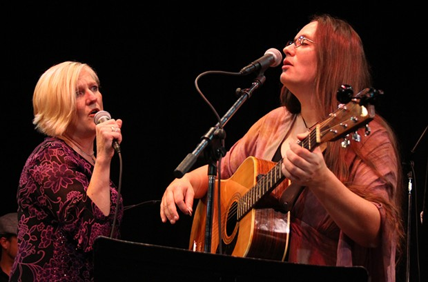 Jan Bramlett and Morgan Corviday. - PHOTO BY BOB DORAN