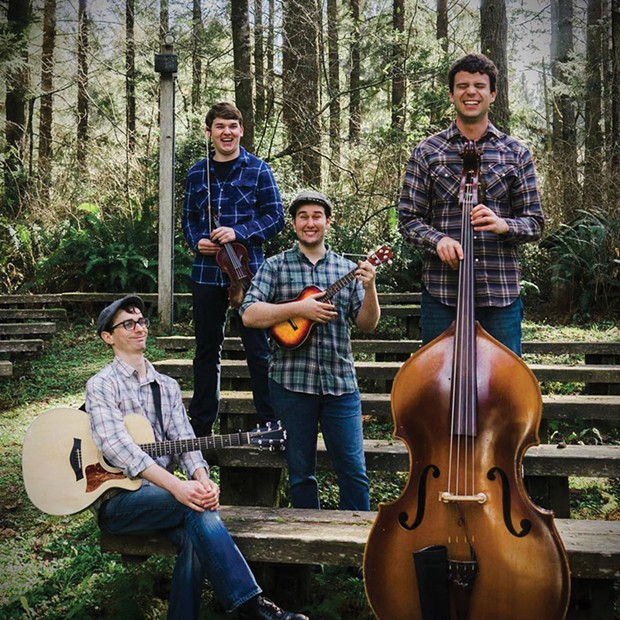 The Gatehouse Well plays Gallagher's Irish Pub Thursday, Nov. 8 at 5:30 p.m. (free). - SUBMITTED