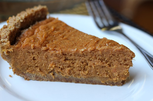 Sweet potato pie that will make you question your loyalty to pumpkin. - PHOTO BY ANDREA JUAREZ