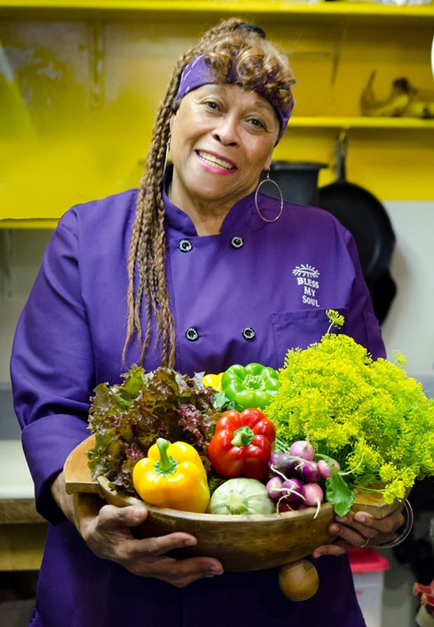 "Chef and owner Marie ""Sweet Mama"" Janisse. - FILE"