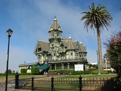 The landmark Carson Mansion. - FILE
