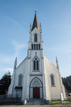 Ferndale's Church of the Assumption. - PHOTO BY LEÓN VILLAGÓMEZ