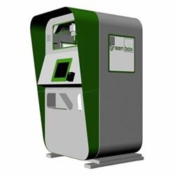 The Green Box vending machine. - HTTPS://GREENBOXROBOTICS.COM/