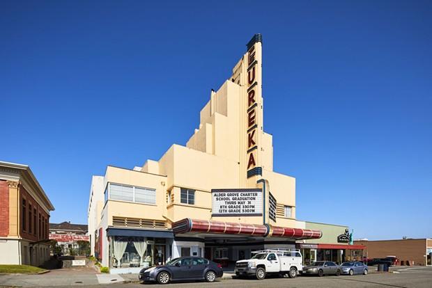 The Eureka Theater. - PHOTO BY RYAN FILGAS