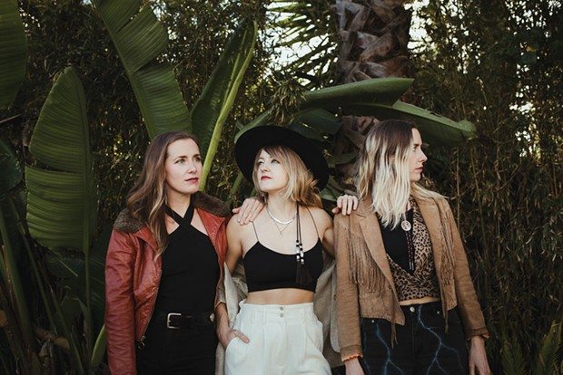 The T Sisters play the Old Steeple on Friday, March 8 at 7:30 p.m. - SUBMITTED