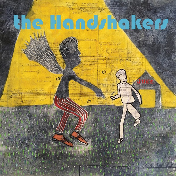 The Handshakers' self-titled debut album.