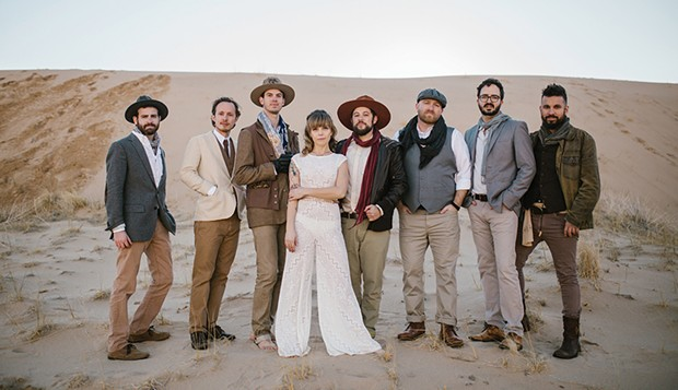 The Dustbowl Revival plays the Arkley Center for the Performing Arts at 8 p.m. on Saturday, March 30. - PHOTO COURTESY OF TALLEY MEDIA