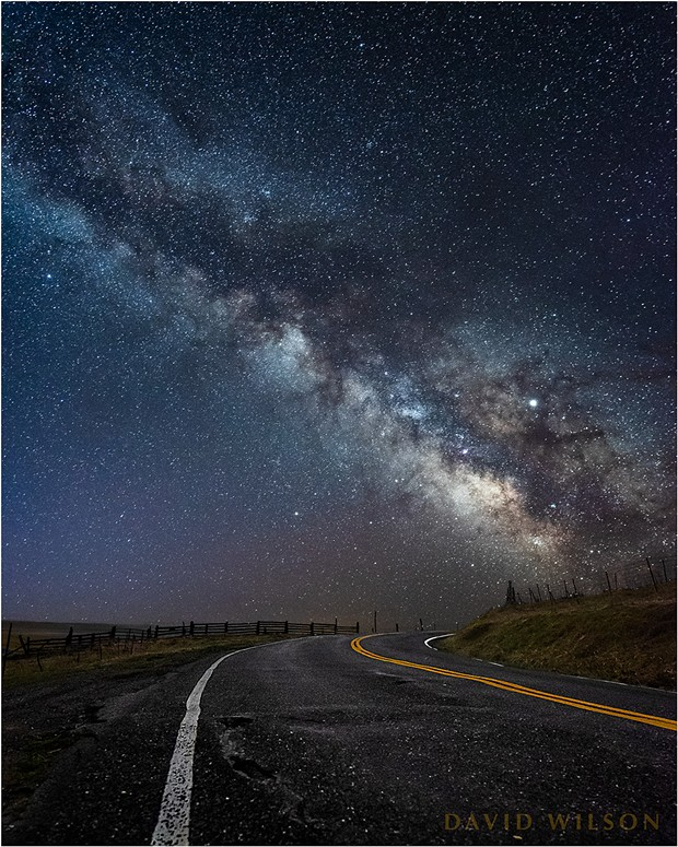 One road may take you home. Another leads you away. And some will take you inside yourself. Where are you going today? Humboldt County, California. Pre-dawn, March 17, 2019. - DAVID WILSON