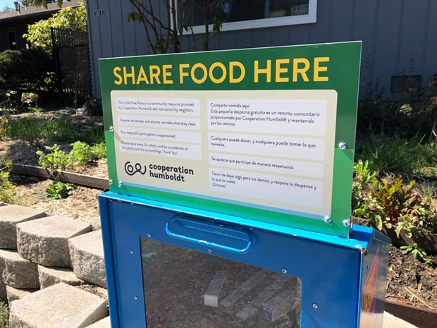 Little Free Pantry - COOPERATION HUMBOLDT/FACEBOOK