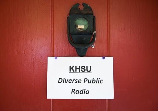KHSU's studio. - MARK MCKENNA