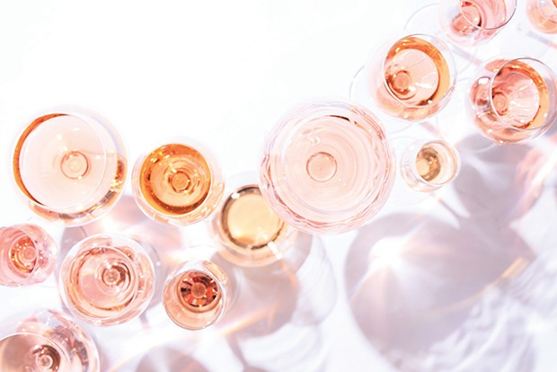 Rosés vary substanitally in color, flavor, sweetness, acidity and more. - SHUTTERSTOCK