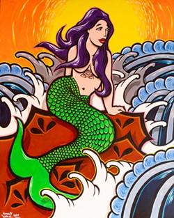 """Siren at Sunset"" - AMY KUMLER"