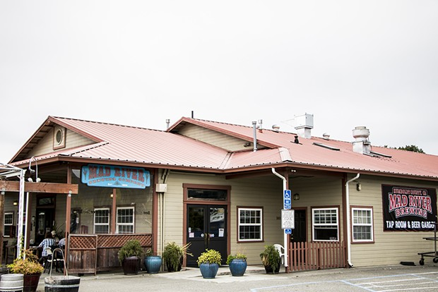 Mad River Brewing's restaurant and taproom in Blue Lake. - FILE