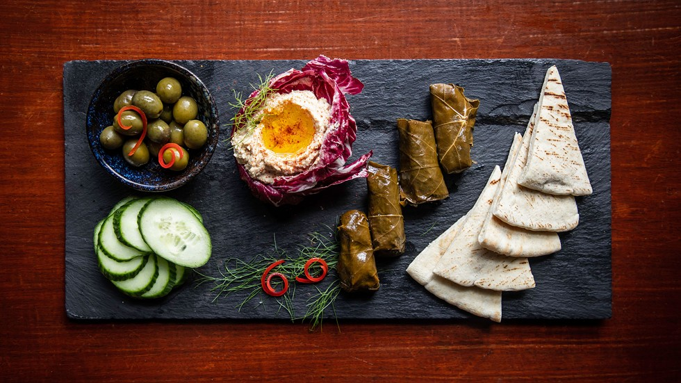 The Mezemerize Me platter. - AMY KUMLER