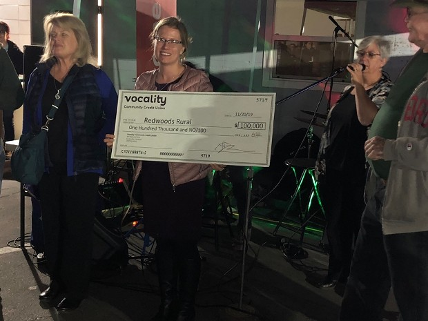 Southern Humboldt Community Hospital received $100,000 also. - PHOTO BY JENNY EARLY
