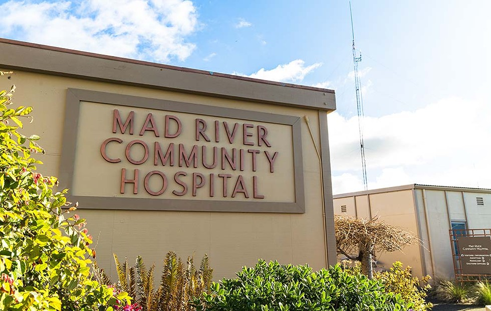 Mad River Community Hospital has seen four phsyicians — Kim Ervin, Emma Hackett, Andrew Hooper and Marcelle Mahan — leave its ranks in recent weeks. - PHOTO BY ZACH LATHOURIS