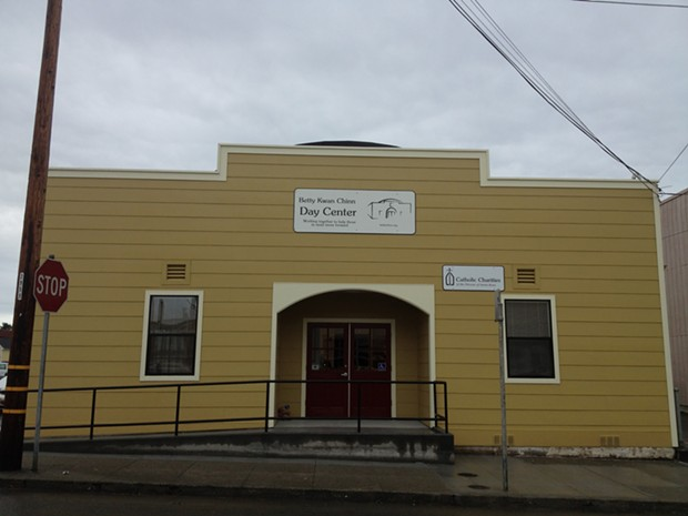 The Betty Kwan Chinn Day Center for the homeless. - PHOTO BY HEIDI WALTERS