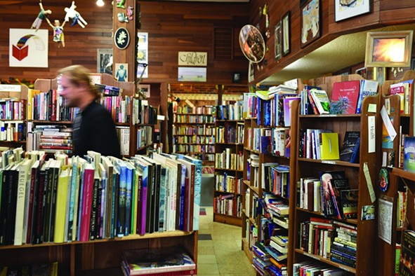 The nooks and crannies of Booklegger. - FILE