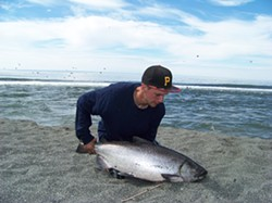 Aaron Lujan and his Chinook. - FILE