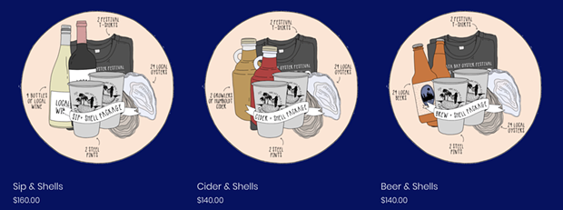 Pre-order kits for remote Oyster Fest-ing. - FROM THE ARCATA MAIN STREET WEBSITE