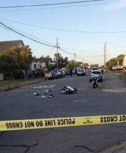 The scene of the crash. - COURTESY OF JON BECK