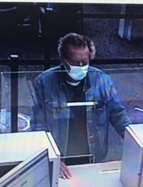 The suspected bank robber. - SUBMITTED