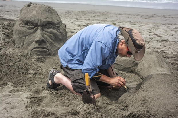 2019 Sand Sculpture Festival - PHOTO BY MARK LARSON