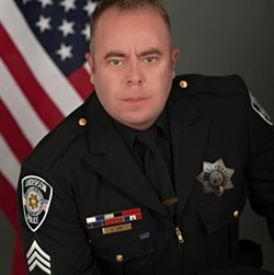 New Fortuna Police Chief Casey Day.