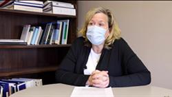 Humboldt County Health Officer Teresa Frankovich. - SCREENSHOT