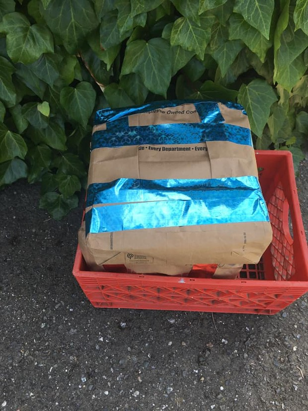 Suspicious packages found on Humboldt Hill. - PHOTO PROVIDED BY A PERSON CONNECTED TO THE INCIDENT
