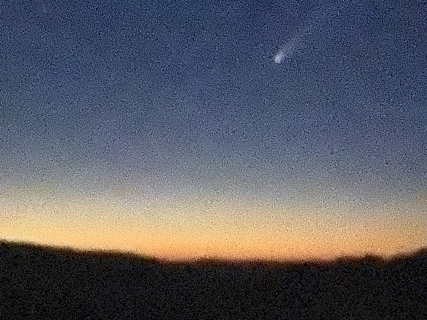 Don't feel bad if your comet photo sucks. Mine does. - ASHLEY HARRELL