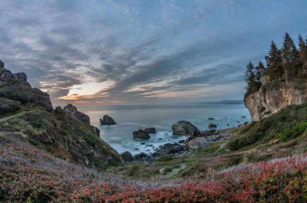 One of many stunning vistas at Patrick's Point State Park. - GREG NYQUIST