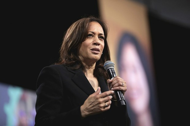 U.S. Senator and former California Attorney General Kamala Harris, has been tapped to be Joe Biden's vice presidential candidate. - PHOTO BY GAGE SKIMORE VIA FLICKR
