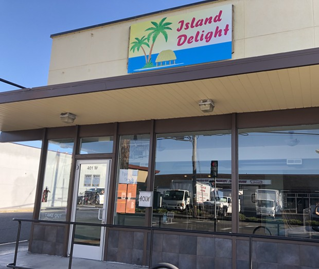 Island Delight springs up in the former home of Amy's Delight. - PHOTO BY JENNIFER FUMIKO CAHILL