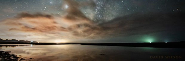 An evening shot of Moonstone Beach. - PHOTO BY DAVID WILSON